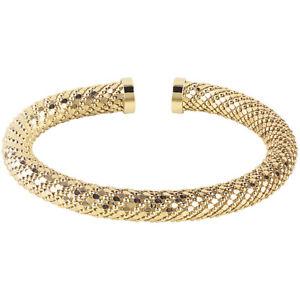 【送料無料】イタリアン ブレスレット ブリスブロンズブレスレットコスモポリタンbliss ,bracciale rigido cosmopolitan in bronzo dorato 20077642, nuovo
