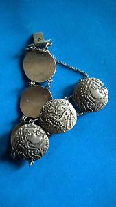 【送料無料】イタリアン ブレスレット ビンテージブレスレットシルバーブレスレットvintage bracelet articul grce silver bracelet