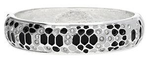 【送料無料】イタリアン ブレスレット ブレスレットメタルシルバーブラックguess donna bracciale metallo argentonero glamazon ubb81330