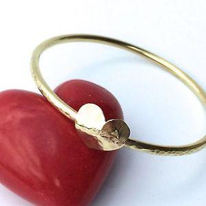 【送料無料】イタリアン ブレスレット ブレスレットスタッカブルブレスレットbracciale con cuore in ottone fatto a mano, impilabili braccialetto