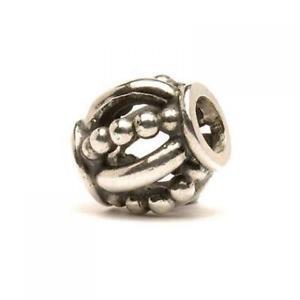 【送料無料】イタリアン ブレスレット シルバークラウンビードtrollbeads bead in argento corona tagbe20085