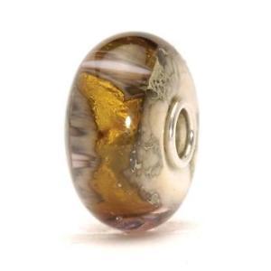 【送料無料】イタリアン ブレスレット オリジナルガラスビーズゴールドnuova inserzionetrollbeads original beads vetro grotta oro tglbe20047