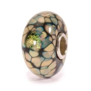 【送料無料】イタリアン ブレスレット オリジナルビーズガラスモザイクtrollbeads original beads vetro mosaico di fiori neri tglbe20055