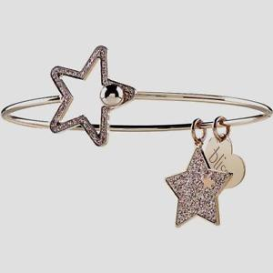 【送料無料】イタリアン ブレスレット ブリスブロンズブレスレットbliss, bracciale glittermania in bronzo rose con stelle 20081445 nuovo