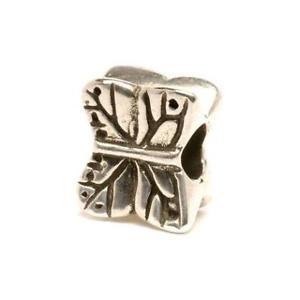 【送料無料】イタリアン ブレスレット オリジナルビーズtrollbeads original beads in argento farfalla tagbe20017