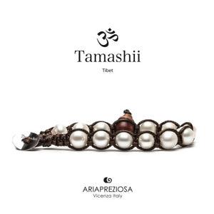 【送料無料】イタリアン ブレスレット カフチベットtamashii bracciale tibet etno monaci buddhisti perla naturale bhs900179