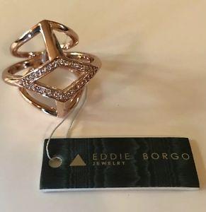 【送料無料】イタリアン ブレスレット エディボルゴラグジュアリーリングピンクゴールドeddie borgo lusso pave ringoro rosa