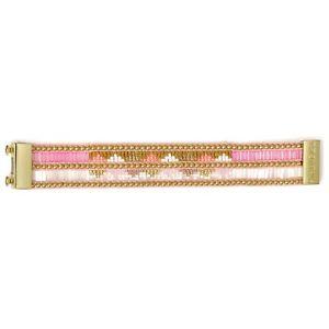 【送料無料】イタリアン ブレスレット カフピンクbracciale hipanema twins rosa boho armkette tg s armkette