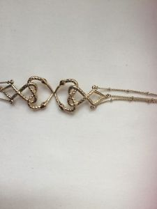 【送料無料】イタリアン ブレスレット キャバリゴールドトーンクロスハートブレスレットヘビjust cavalli gold tone crossover cuore serpenti donna bracciale