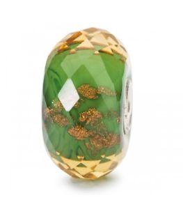 【送料無料】イタリアン ブレスレット ガラスビードクリスマスオリジナルスパークtrollbeads bead in vetro scintilla della fortuna natale tglbe30040 originale