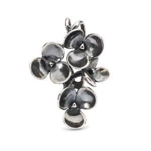 【送料無料】イタリアン ブレスレット シルバーペンダントスミレオリジナルビーズtrollbeads original beads in argento pendente violette tagpe00070