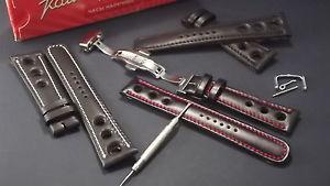 【送料無料】イタリアン ブレスレット クロックモデルレザーストラップcinturino in pelle per orologio modello chronosport disponibile da 18 26mm