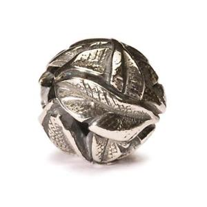 【送料無料】イタリアン ブレスレット シルバーサンタンジェロオリジナルビーズtrollbeads original beads in argento piume dangelo tagbe30095