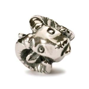 【送料無料】イタリアン ブレスレット シルバーオリジナルビーズtrollbeads original beads in argento ariete volitivo tagbe30100