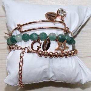 【送料無料】イタリアン ブレスレット カフカフサイズguess donna 3er set bracciale 1 bracciale 2 perlenarbnder nuovo ubs80005 taglia unica