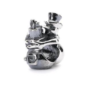 【送料無料】イタリアン ブレスレット オリジナルビーズシルバーレディtrollbeads original beads argento pupazzo di neve e lady disgelo tagbe30124
