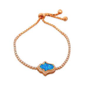 【送料無料】イタリアン ブレスレット スターリングシルバートーンピンクゴールドオパールargento sterling tonalit oro rosa cristalli turquoisetone opale