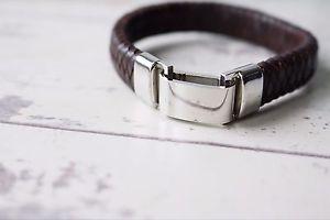 【送料無料】イタリアン ブレスレット カスタムブレスレットpersonalizzato braccialetto in pelle inciso regalo