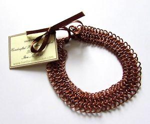 【送料無料】イタリアン ブレスレット ロンドンチェーンリンクストラップhanfords di londra fatto a mano di rame catena collegamento braccialetto di rame anniversario regalo
