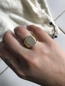 【送料無料】イタリアン ブレスレット エディーシールリングeddie borgo anello con sigillo
