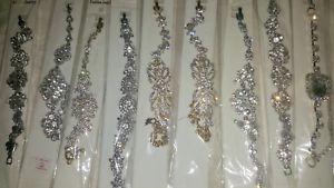 【送料無料】イタリアン ブレスレット ロットブレスレットlotto 20 pz strass strass bracciali in argento colorenuovo allingrosso