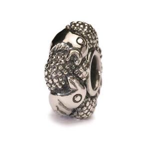 【送料無料】イタリアン ブレスレット オリジナルビーズtrollbeads original beads in argento uccelli del paradiso tagbe50005