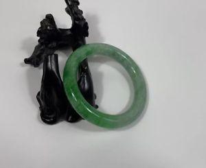 【送料無料】イタリアン ブレスレット ×ナチュラルブレスレット100 naturale bracciale in giada verde 60mm*10mm