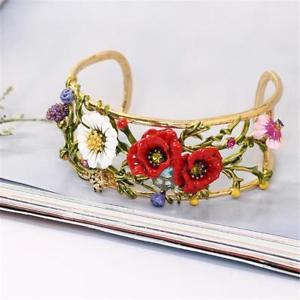 【送料無料】イタリアン ブレスレット レフラワーブレスレットcg2894 bel fiore braccialetto di les nereides