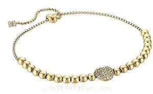 【送料無料】イタリアン ブレスレット ミハエルカフカフカラーゴールドmichael kors mkj6315710 bracciale bracciale colore oro nuovo