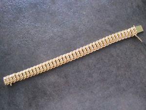 【送料無料】イタリアン ブレスレット ブレスレットbracelet maille amricaine plaqu or