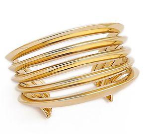 【送料無料】イタリアン ブレスレット ミハエルカフブレスレットゴールドmichael kors mkj4314 bracciale braccialetto in colore oro nuovo