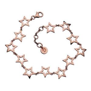 【送料無料】イタリアン ブレスレット ピンクゴールドデイジーサハラスターブレスレットdaisy sahara star bracciale in oro rosa