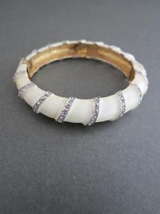 【送料無料】イタリアン ブレスレット ビンテージケネスジェイレーンカフブレスレットvintage kjl kenneth jay lane bracciale braccialetto firmato