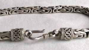 【送料無料】イタリアン ブレスレット シックブレスレットグルメアルジェントフランスtrs chic bracelet gourmette maille tresse en argent 925 made in france