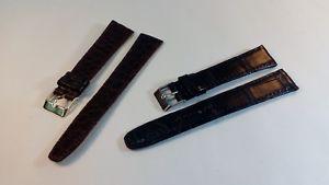 【送料無料】イタリアン ブレスレット ブレスレットワニbracelet montre en crocodile modle classique de 16 20mm