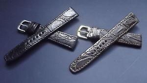 【送料無料】イタリアン ブレスレット ブレスレットワニクラシックbracelet montre en crocodile modle classiquedisponible de 16 20mm