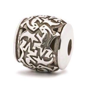 【送料無料】イタリアン ブレスレット シルバーオリジナルビーズtrollbeads original beads in argento geco tagbe60001