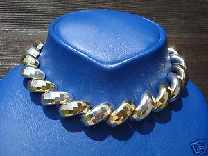 【送料無料】イタリアン ブレスレット ボーブレスレットビンテージアルジェントbeau bracelet vintage maille souple en argent et vermeil