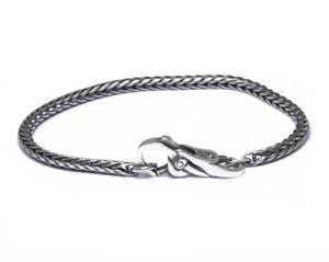 【送料無料】イタリアン ブレスレット シルバーカフノードtrollbeads bracciale start in argento con chiusura nodo di freia taglo00027 br
