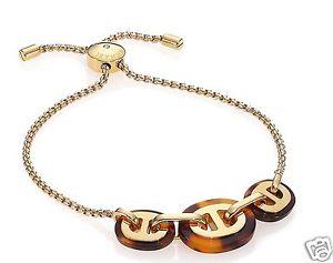 【送料無料】イタリアン ブレスレット ミハエルカフブレスレットカラーゴールドブラウンmichael kors mkj4428 bracciale braccialetto colore oromarrone nuovo