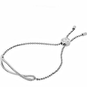 【送料無料】イタリアン ブレスレット カラーミハエルカフブレスレットシルバーmichael kors mkj6618040 bracciale braccialetto in colore argento nuovo