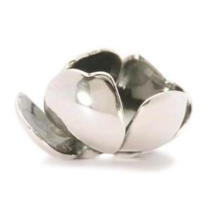 【送料無料】イタリアン ブレスレット シルバーオリジナルビーズtrollbeads original beads in argento fiore misterioso tagpe00002