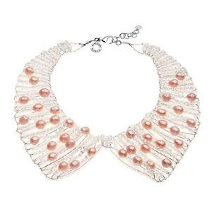 【送料無料】イタリアン ブレスレット ネックレスcollana con perle e cristalli cod 480229