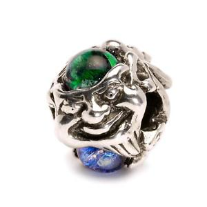 【送料無料】イタリアン ブレスレット オリジナルビーズシルバーガラストロールtrollbeads original beads argento vetro troll in vetro tagbe00099