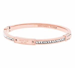 【送料無料】イタリアン ブレスレット ミハエルカフカフピンクゴールドmichael kors mkj5975791 bracciale bracciale colore oro rosa nuovo