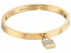 【送料無料】イタリアン ブレスレット ミハエルカラーカフブレスレットゴールドmichael kors mkj6355710 bracciale braccialetto in colore oro nuovo