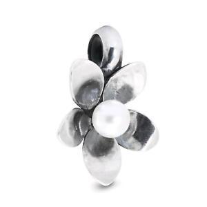 【送料無料】イタリアン ブレスレット オリジナルアクセサリフラワーtrollbeads original accessorio stop fiore del vento tagbe00214
