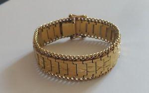 【送料無料】イタリアン ブレスレット ブレスレットimposant bracelet en plaqu or