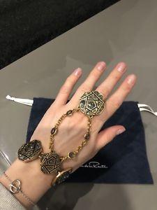 【送料無料】イタリアン ブレスレット オスカーデラリングブレスレットoscar de la renta bracciale con anello