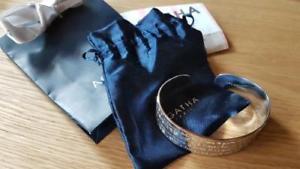 【送料無料】イタリアン ブレスレット ブレスレットアガサアルジェントbracelet jonc agatha en argent 925